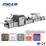 Польностью автоматический Non сплетенный мешок делая машину от машинного оборудования Zhengwei