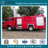 HOWO 4X2 Feuerbekämpfung-LKW für Verkauf