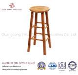 Сжатая мебель штанги с табуреткой штанги твердой древесины (264)