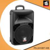 De Spreker van Loundspeaker USB van de batterij met Draadloze pS-2410bt-Wb van de Microfoon