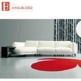 Strato grigio-chiaro moderno del sofà dell'angolo di colore con buona qualità