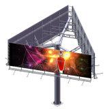 Columna de la autopista Unipole Pantalla vallas de publicidad