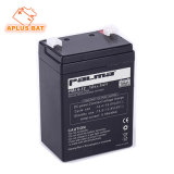 A válvula regulou a bateria acidificada ao chumbo 12V 2.6ah com recipiente do ABS