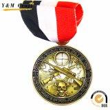 아름다운 디자인 기념품 금속에 의하여 주문을 받아서 만들어지는 메달