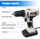 18V Power Tools Especificação furadeira elétrica sem fio eléctrico de Broca OEM