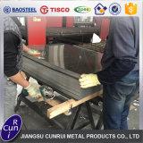 Blad van het Roestvrij staal van de Lage Prijs van de fabriek het In het groot Koudgewalste 316L 304 1mm Dikke 4X8