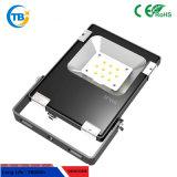 Outdoor 200W SMD3030 Epistar Chip noir /Projecteur à LED blanche