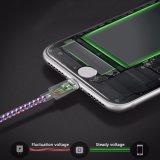 Aufladeeinheit umsponnenes USB-Nylonkabel für iPhone