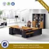 Самомоднейшая таблица l стол управленческого офиса формы стеклянный (HX-D9045)