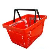 Zc-6プラスチックバスケットの中国の製造者の買物かご