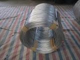 Grand noir de fil d'acier de bobine ou fil d'acier 500kg/Coil de HDG/HDG