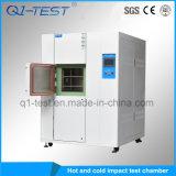 Chambre chaude et froide de matériel de laboratoire de 3 zones de la température de choc thermique d'essai