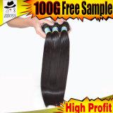 Les cheveux humains brésiliens de 100% peuvent être couleur