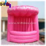 분홍색 색깔 옥외 광고 부스 천막을%s 팽창식 사탕 Floss 천막