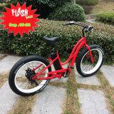 Bicicleta elétrica do pneu gordo grande da promoção 26inch