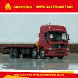 Het Merk van Sinotruk HOWO 8X4 50 Ton van de Container draagt Flatbed Vrachtwagen