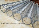Tubo flessibile a spirale del filo di acciaio del PVC con migliore qualità