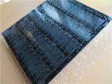 Placa PCB preta PE-4 2 camadas cobre e ouro de imersão
