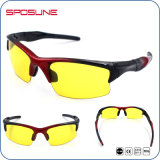男女兼用の青く軽い妨害ガラスのスポーツのサングラスはあなた専有物を決め付ける