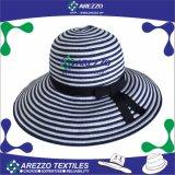 Sombrero de papel de la playa de la paja de las nuevas del diseño de Japón mujeres del verano (AZ022)