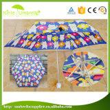 Fördernde 5 falten im Taschenformat Miniregen-Regenschirm