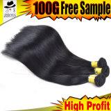 выдвижения волос девственницы 613# 8A 100% бразильские