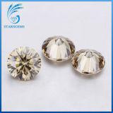 De Ronde Kleurrijke Gekweekte Diamant Moissanite van uitstekende kwaliteit van 1.5 Karaat Laboratorium in Voorraad voor Verkoop