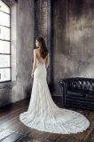Amelie 바위 같은 2018년 인어 섹시한 형식 결혼 예복