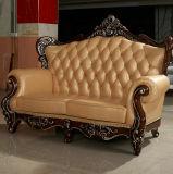 El vestíbulo del hotel Mobiliario nuevo sofá de cuero auténtico clásico (169)