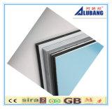 Hojas compuestas coloreadas aluminio para el área exterior