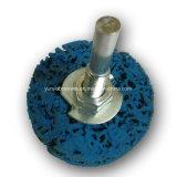 Polimento de diamantes em forma circular com elevado grau de ferramentas abrasivas