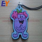 Custom Cheap softly PVC 2D 3D logo key chain