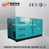 Generatore silenzioso insonorizzato del diesel di energia elettrica di 350kVA 280kw Cummins