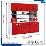 L'usine de la Chine fournissent aux éléments détachables enduits UV de cuisine de forces de défense principale des tiroirs