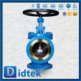 La bride de Didtek termine la portée dans le robinet d'arrêt sphérique normal de cornière de Stellite DIN