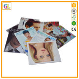 Impression polychrome de revue de mode de laminage de couverture