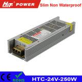 250W 10A 24V amincissent le bloc d'alimentation de DEL avec la fonction de PWM