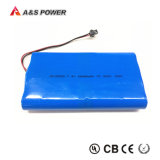 Batterie Rechargeable 18650 2s4p 7.4V 10,4Ah Batterie Li-ion pour la batterie de sauvegarde de lumière à LED