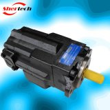기업 응용 (shertech, Parker Dension T6EES)를 위한 유압 조정 진지변환 두 배 바람개비 펌프 T6 Serie T6ees