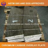 Carbure de chrome surfaçant dur la plaque d'usure pour la grille de câble d'alimentation