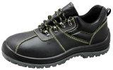 La nueva moda de cuero genuino Zapatos de seguridad con puntera de acero