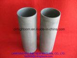 Pipe en céramique noire agglomérée par réaction réfractaire de carbure de silicium