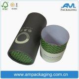 Tubo de papel de empaquetado de la categoría alimenticia del cilindro de la cartulina del FDA con insignia ULTRAVIOLETA de la hoja y del punto