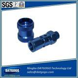 파랑에 의하여 양극 처리되는 완료를 가진 가공 알루미늄 가로장 접합기를 기계로 가공하는 CNC