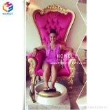 Cadeira clássica da massagem do pé para cadeiras de Pedicure dos TERMAS do salão de beleza da beleza do prego com encanamento