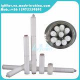 20 40 filtro plissado da polegada PP com a membrana de 5 mícrons