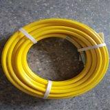 Deux couches des ensembles de tuyaux en résine tressé en fibre pour équipement de pulvérisation