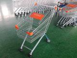 carro de compra quente do supermercado da venda 80L com cesta do metal
