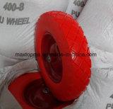 Maxtop 단단한 고무 편평한 자유로운 PU 거품 트롤리 바퀴