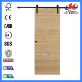 Porte de grange en bois de placage moderne de bureau